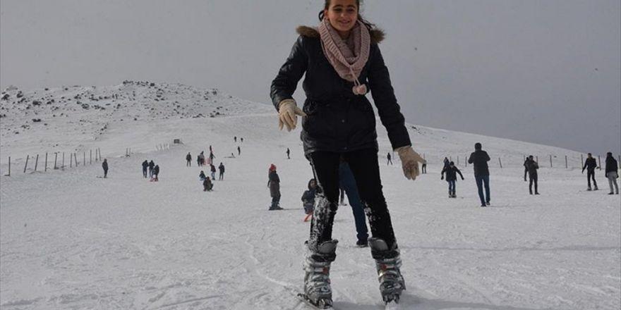 Şanlıurfa'da Kayak Keyfi