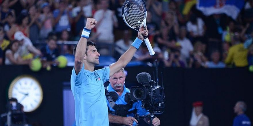Djokovic Avustralya Açık'ta 2. Turda