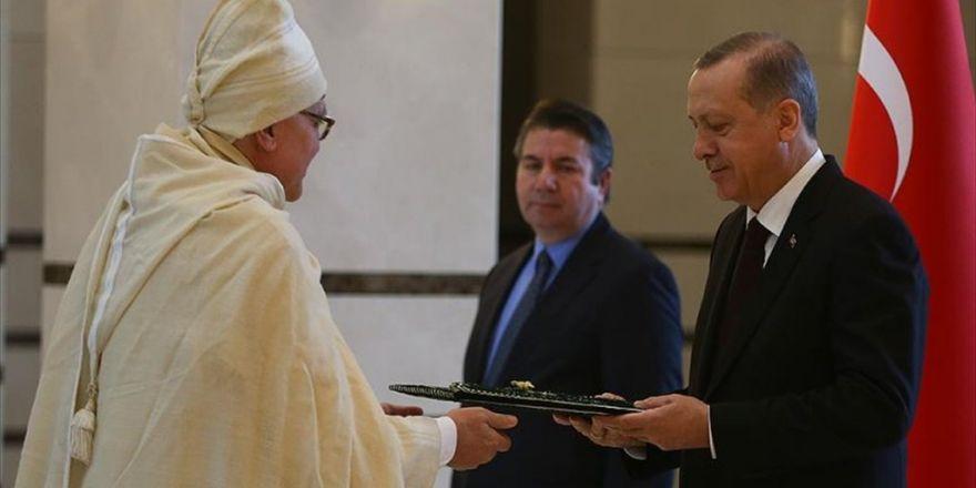 Cumhurbaşkanı Erdoğan, Namibya'nın Ankara Büyükelçisini Kabul Etti