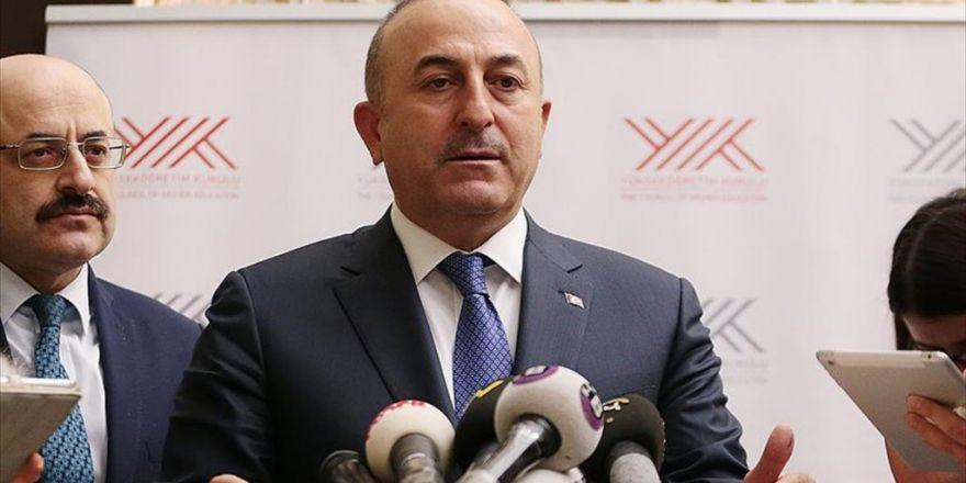 Dışişleri Bakanı Çavuşoğlu: Abd'nin Astana'daki Görüşmeye Katılması Konusunda Rusya İle Hemfikiriz