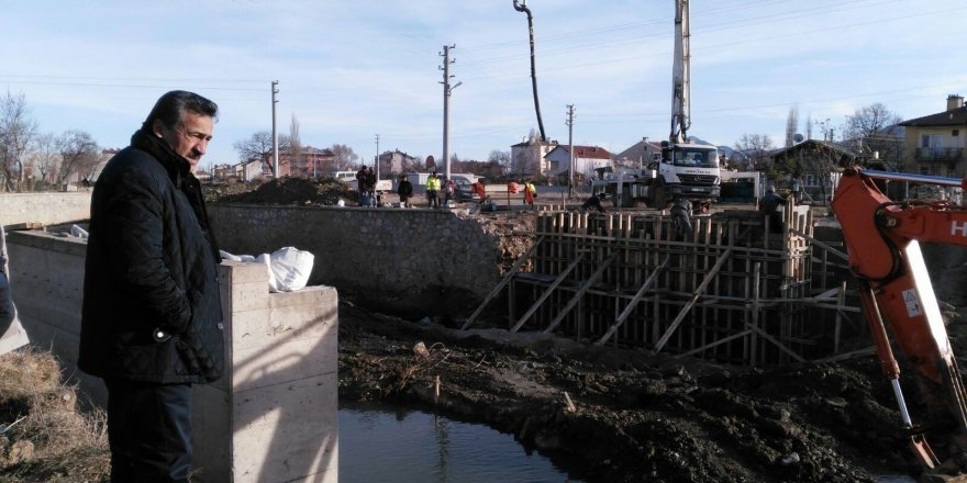 Seydişehir'de taşkın koruma ihalesi yapıldı
