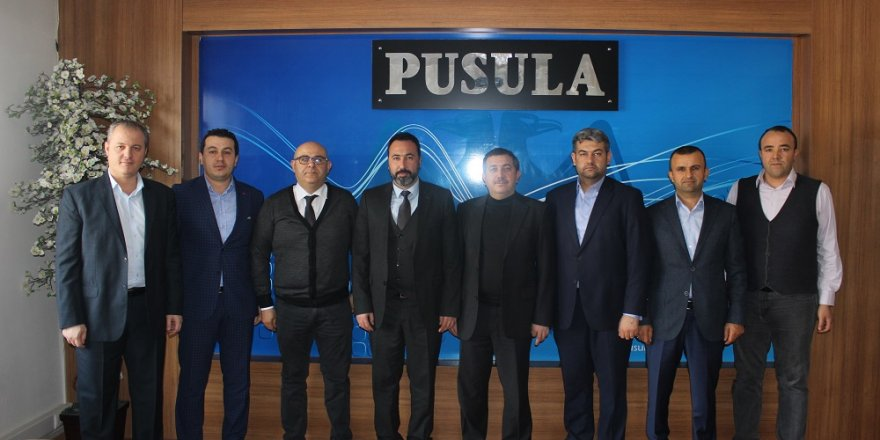 AK Parti Selçuklu'dan Pusula'ya ziyaret