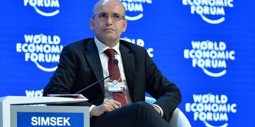 Başbakan Yardımcısı Şimşek Davos'ta