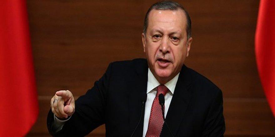 Erdoğan'dan Avrupa'ya rest