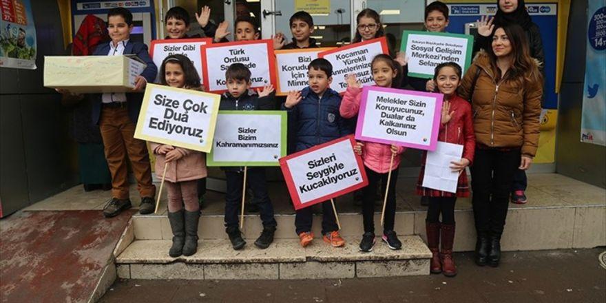 Öğrencilerden El Bab'daki Türk Askerine Moral Mektubu