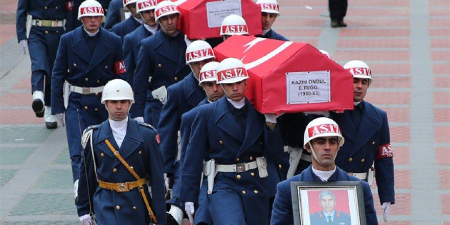 Şehit pilot Akşehir'de toprağa verilecek