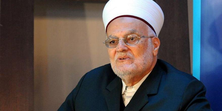 Mescid-i Aksa İmamı Şeyh Sabri: Abd Büyükelçiliğinin Kudüs'e Taşınması Savaş İlanı Demektir