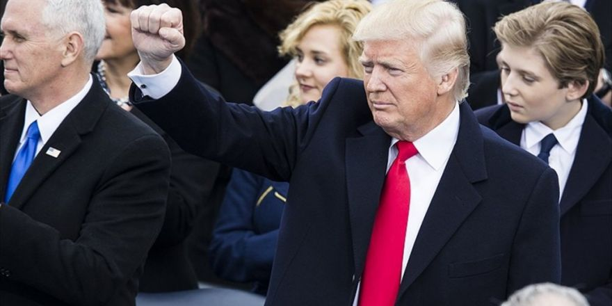 Donald Trump Resmen Abd Başkanı
