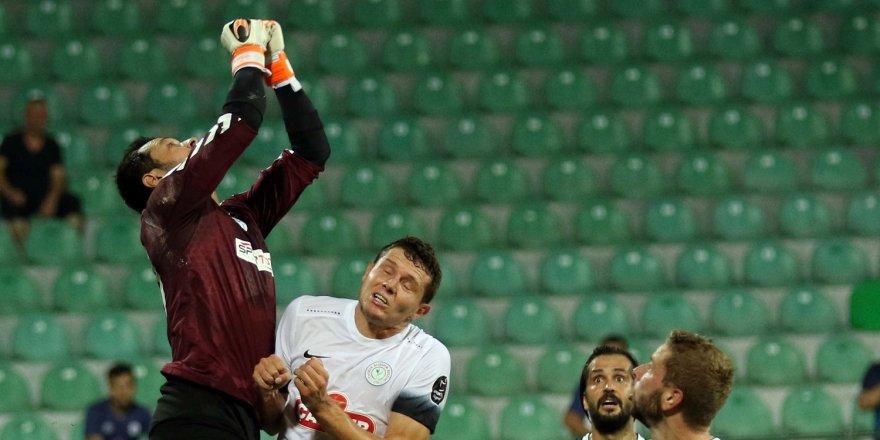 Konyaspor'un ilk 11'i belli oldu