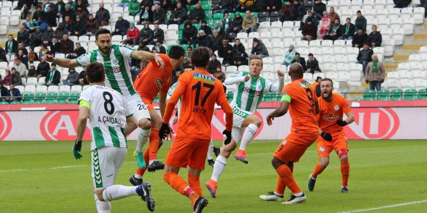 Konyaspor: 2 - Çaykur Rizespor: 1