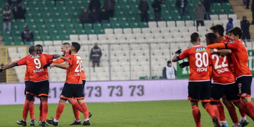 Adanaspor'da Galibiyet Tek Golle Geldi