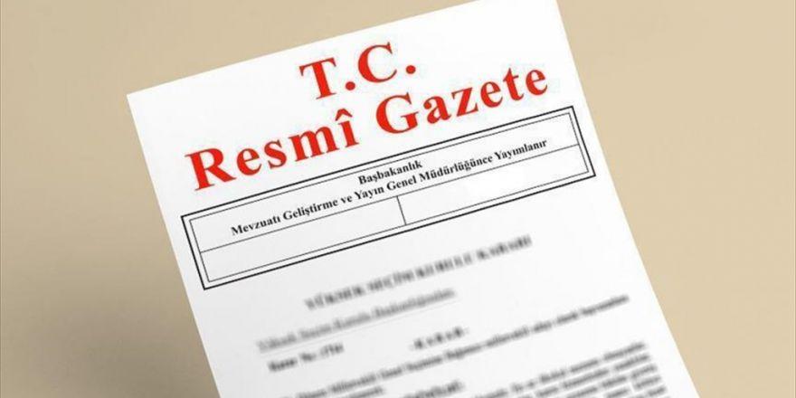 Cumhurbaşkanı Erdoğan'ın Yaptığı Rektör Atamaları Resmi Gazete'de
