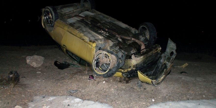 Kazazede şoför kurtarılamadı