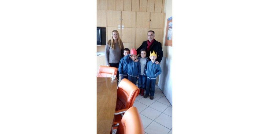Ayşe Tümer İlkokulu'nda karne heyecanı