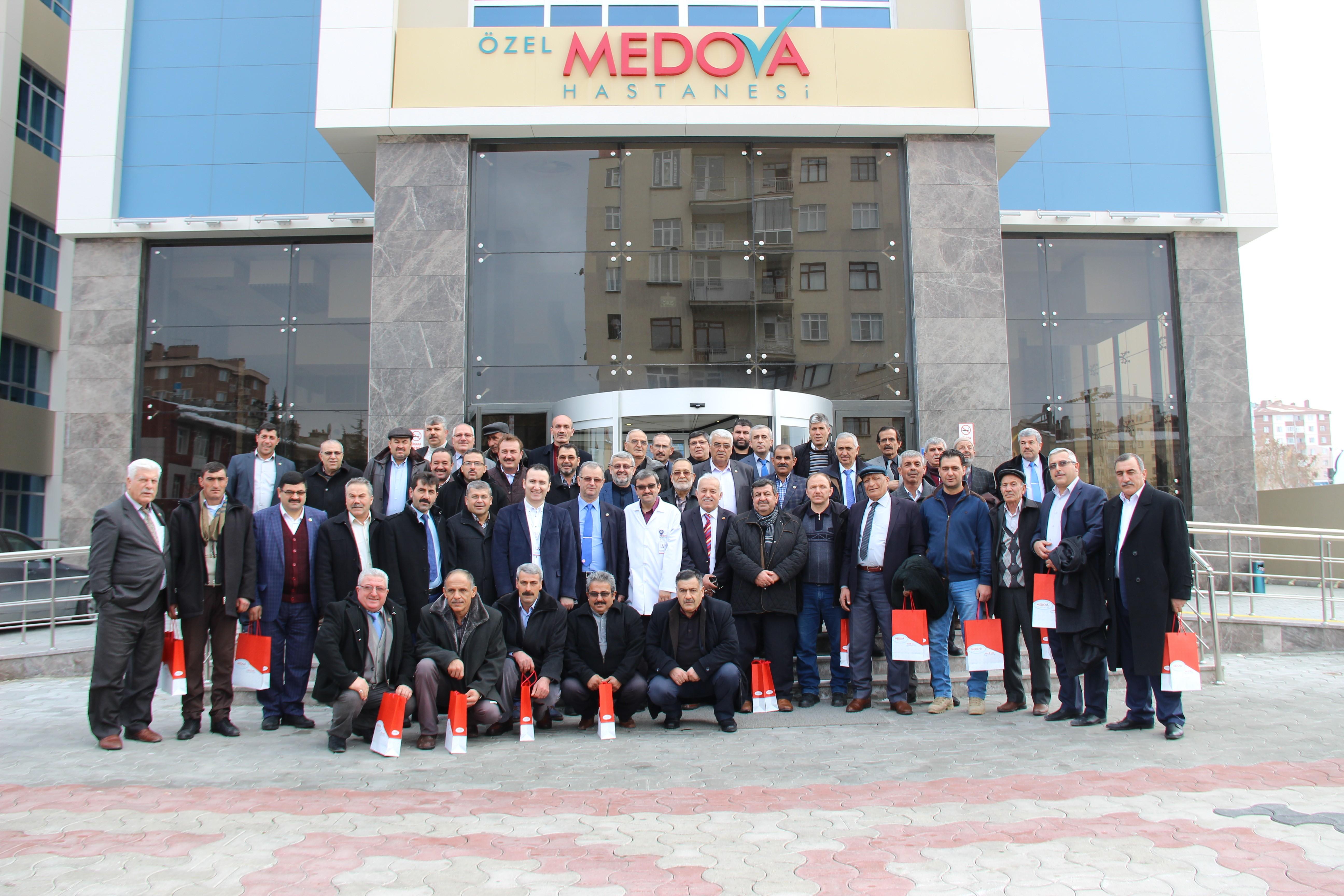 Medova, muhtarları ağırladı