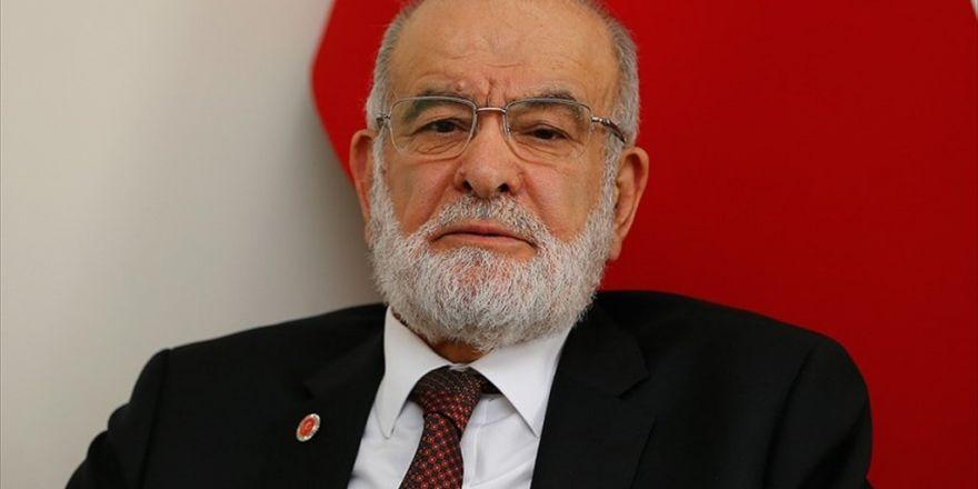 Saadet Partisi Genel Başkanı Karamollaoğlu: Biz Prensip Olarak Başkanlık Sistemine Karşı Değiliz