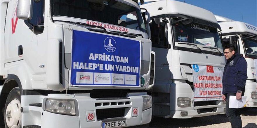 Haleplilere Afrika'dan Da Yardım Geldi