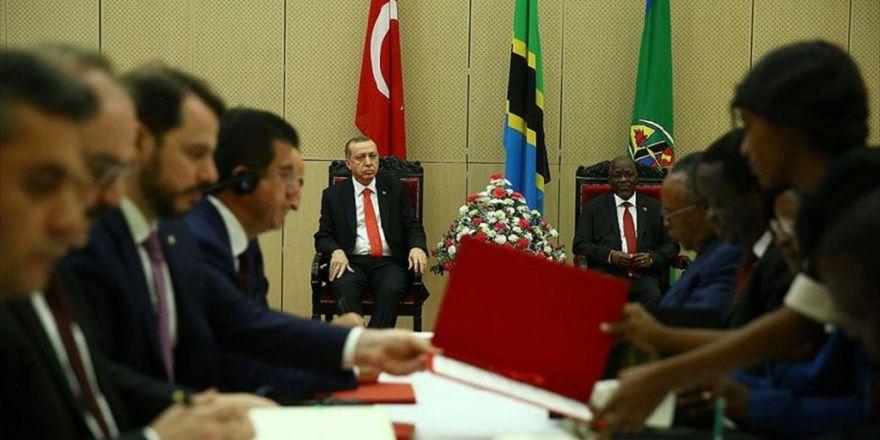 Türkiye İle Tanzanya Arasında İşbirliği Protokolü Ve Mutabakat Zaptı İmzalandı
