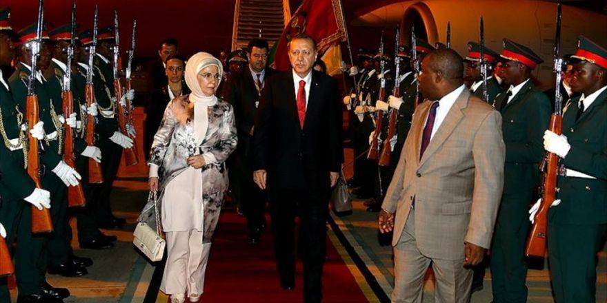 Cumhurbaşkanı Erdoğan Afrika Turunun İkinci Durağı Mozambik'te