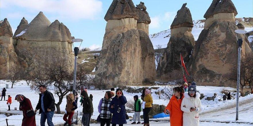 Kapadokya'daki Müzeleri 1 Milyon 493 Bin Turist Ziyaret Etti