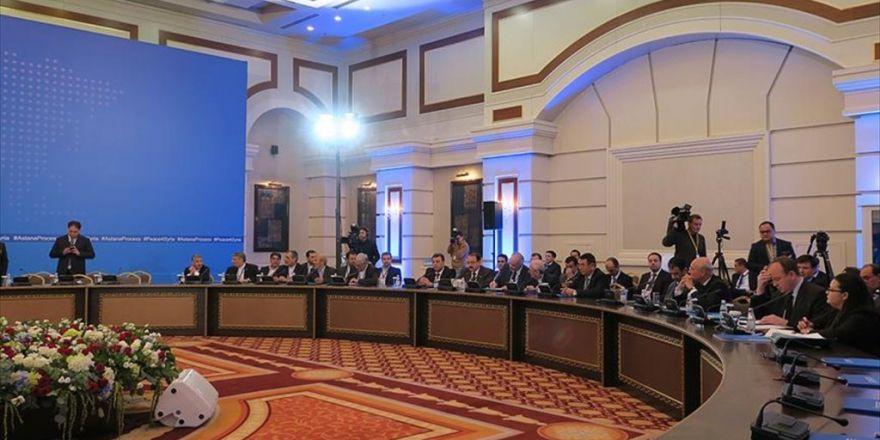 Astana'daki Suriye Toplantısında 'Ateşkesi İzleme' Konusunda Uzlaşıldı