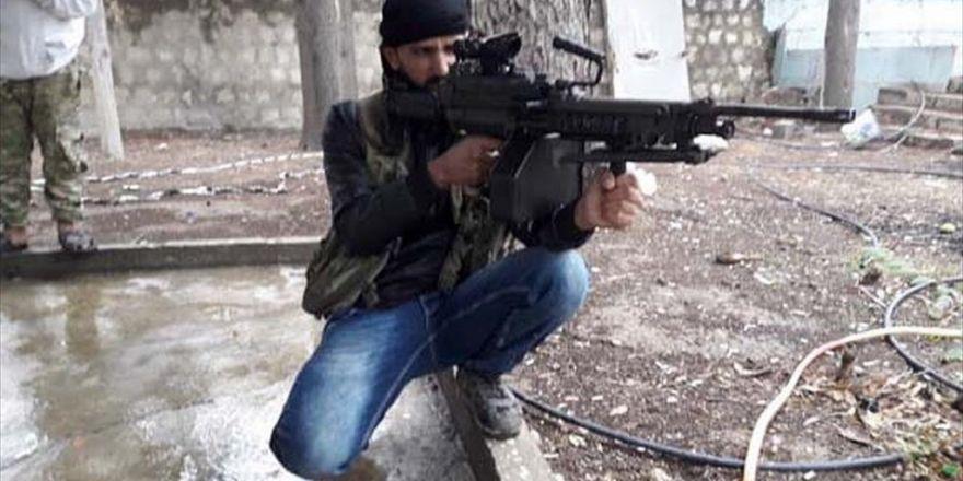 Kilis'te Deaş'lı Keskin Nişancı Terörist Yakalandı