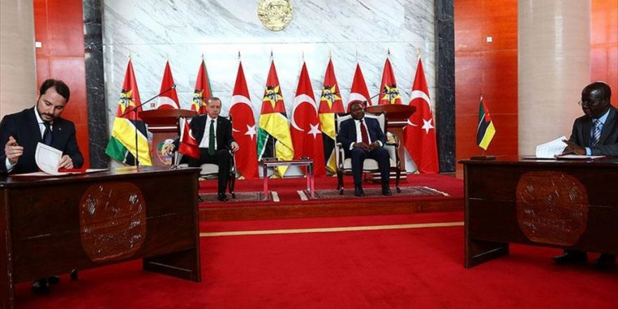 Türkiye İle Mozambik Arasında 6 Anlaşma İmzalandı