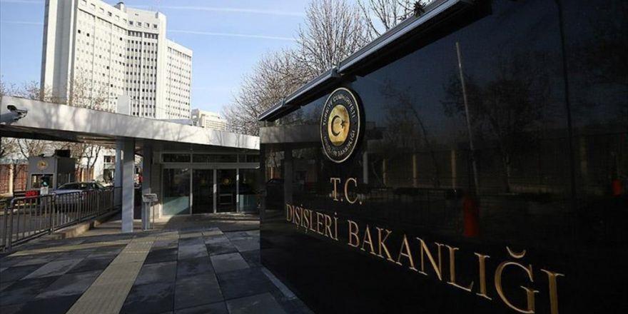 Türkiye'den İsrail'in Filistin'deki Yasadışı Yerleşimlerine Kınama