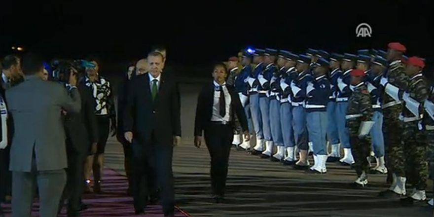Cumhurbaşkanı Erdoğan, Madagaskar'da