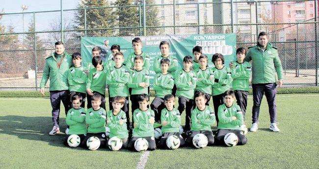 Konyaspor'dan Ankara'da futbol okulu