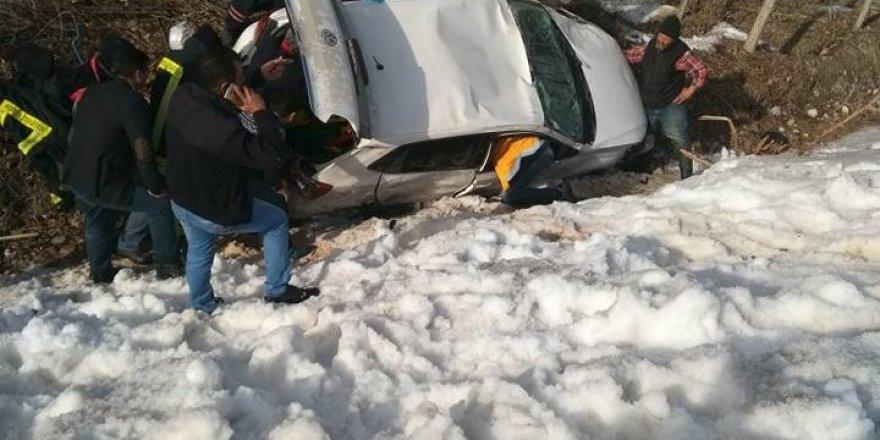Beyşehir-Konya Yolu'nda kaza