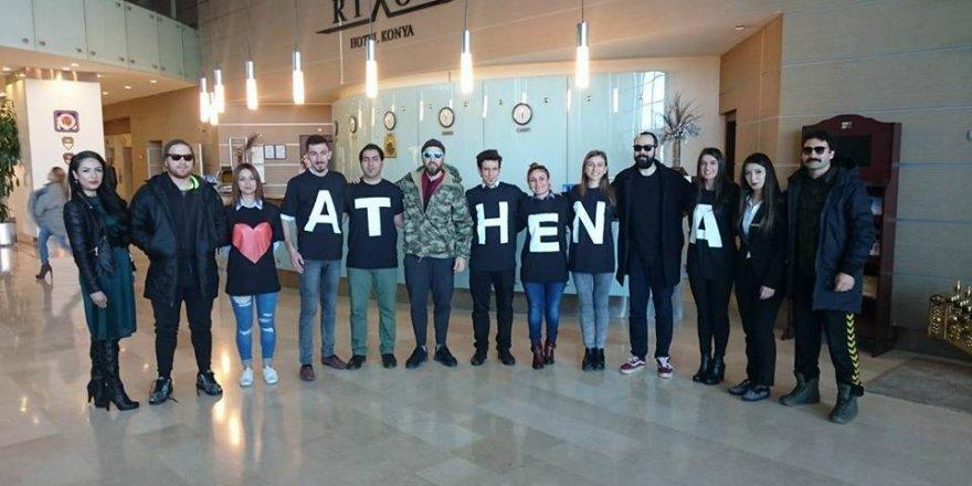 Konya'da Athena fırtınası