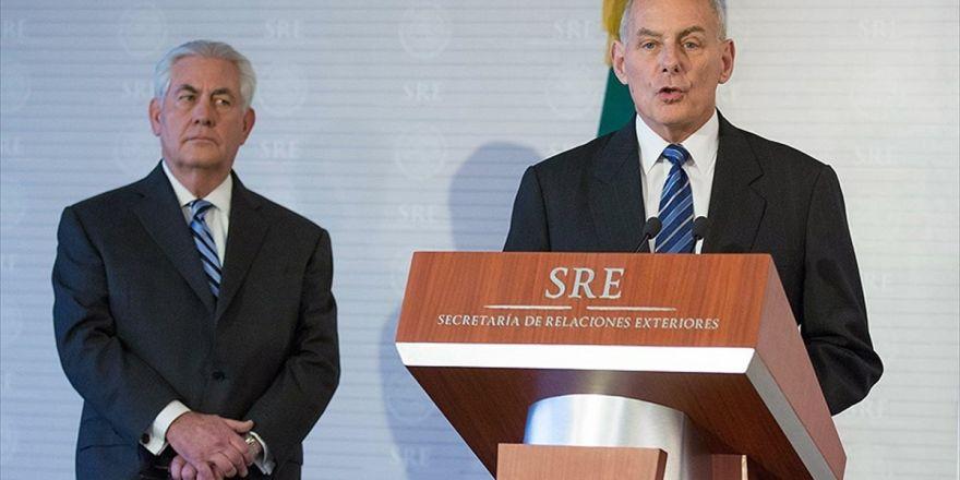 Abd İç Güvenlik Bakanı Kelly: Abd'den Toplu Şekilde Mülteci Gönderimi Olmayacak