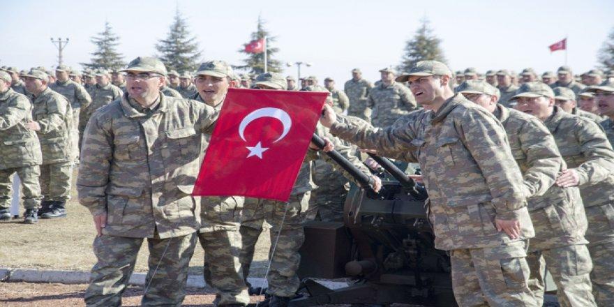 Konya'da 600 asker yemin etti