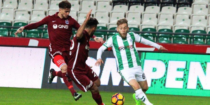 Atiker Konyaspor: 1 - Trabzonspor: 1