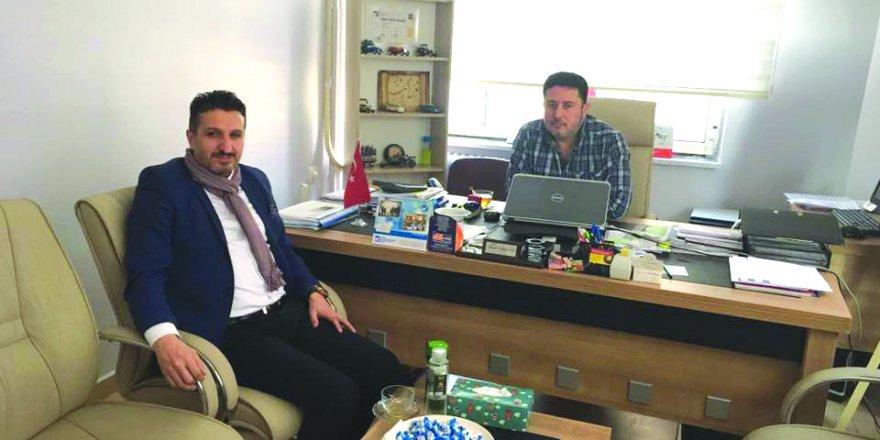 Ali Fahri Aras  Murat Karataş ile sohbette