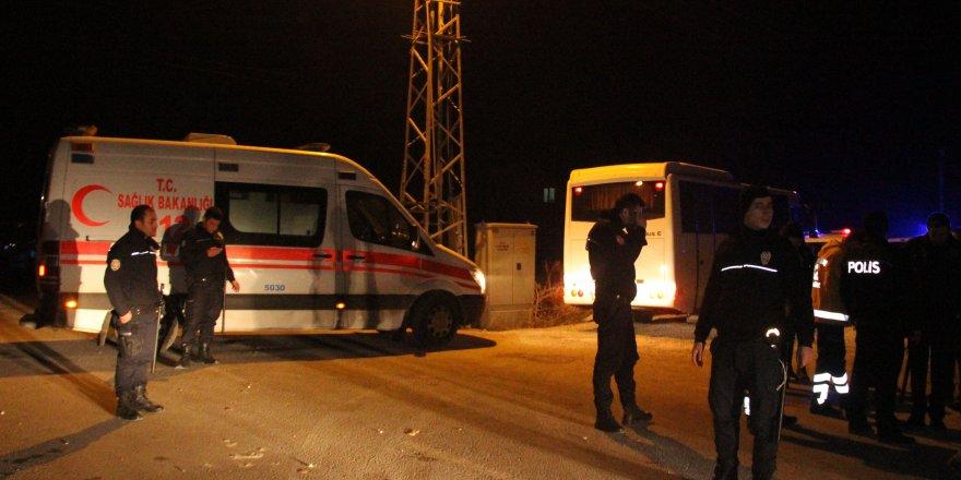 Konya'da kanlı kavga: 1 ölü 3 yaralı