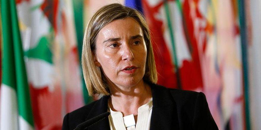 Mogherini: Ortak Savunma Ve Dış Politikada İlerleme Kaydetmek Lazım