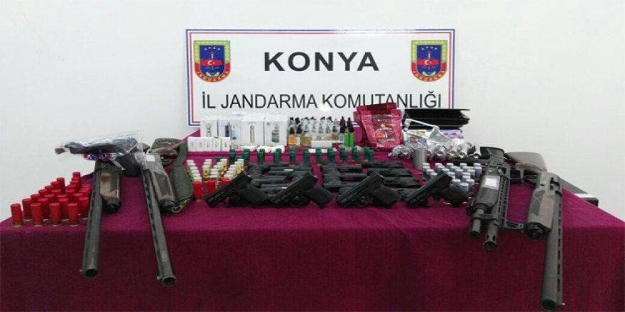 Konya'da 'suikast silahı' operasyonu