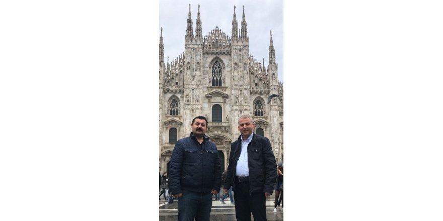 Nuh Bozkır ve Mehmet Ayan Milano'da