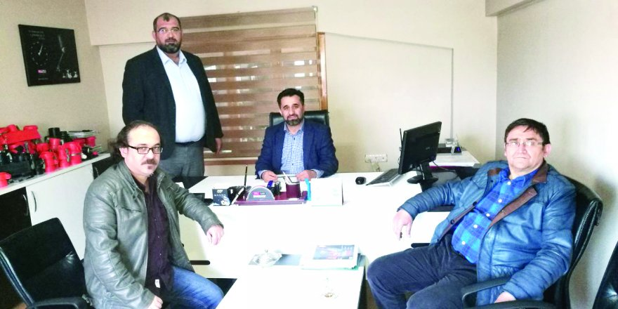 Ulaş İnbaşı'dan MF Sulama'ya ziyaret