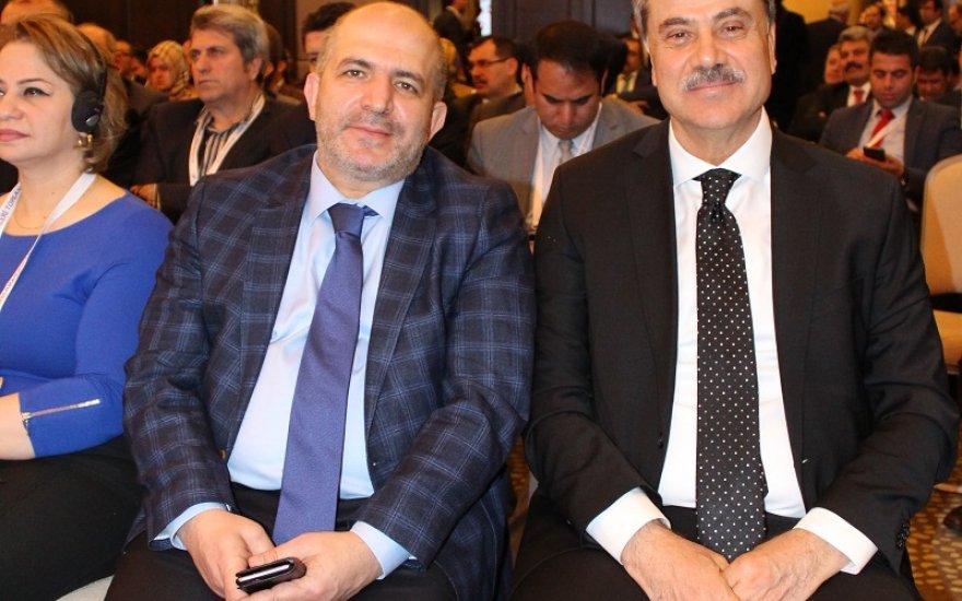 Uğur Kaleli ve Mustafa Baloğlu yan yana