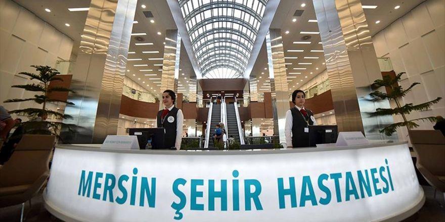 Mersin Şehir Hastanesi 1,5 Ayda 120 Bin Hastayı Ağırladı