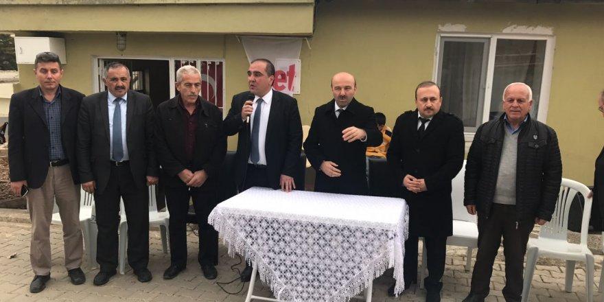 Bakan Yardımcısı Tüfekci'den Mahalle Ziyaretleri