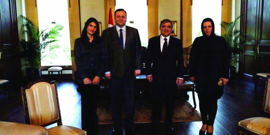 Hukukçu Latif Cem  Baran, Abdullah Gül ile