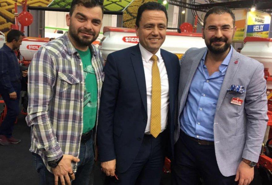 Mustafa Aladağ'dan Şakalak Tarım'a ziyaret