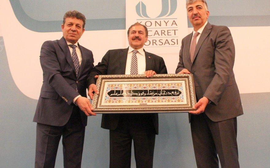 """Eroğlu """"Konya Üretiyor Türkiye Büyüyor"""" programına katıldı"""