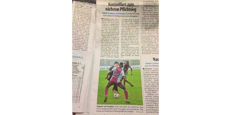 Konyalı Fatih Ufuk  Alman basınında