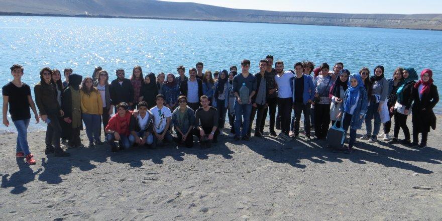 Erozyon sahasına teknik geziler sürüyor