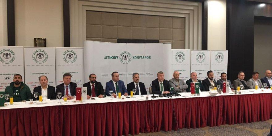 Atiker Konyaspor Başkanı Ahmet Şan soruları cevaplıyor